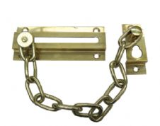 Door Chain 724H in Polished Brass